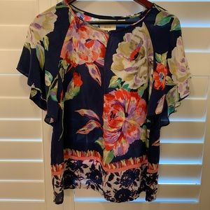 Anthropologie silky top